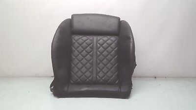 2013 2014 2015 AUDI S7 FRONT RIGHT PASSENGER BOTTOM SEAT CUSHION BLACK LEATHER