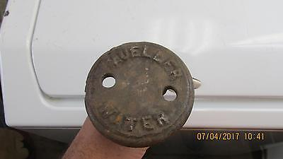 Vintage Mueller 51834 water wrench antique old tool