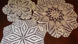 BULK LOT Beautiful Vintage Crocheted Doilies Beaudesert Ipswich South Preview
