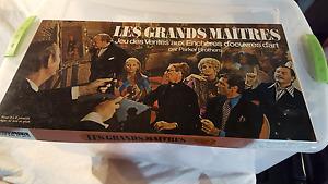 Jeux de société Les Grands Maîtres - Comme neuf, jamais joué!