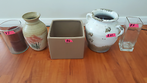 Various vases for sale Wallsend Newcastle Area Preview