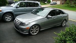 2012 Mercedes Benz C-350 4-Matic