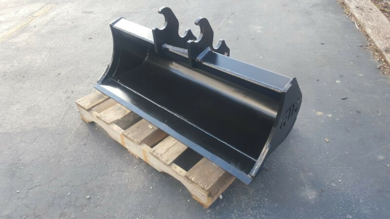 "New 48"" Ditch Cleaning Bucket For A Kubota Kx71"