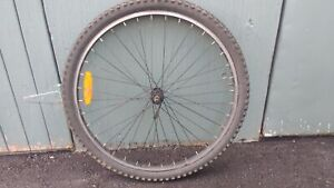 26 inch alloy front wheel with quick release