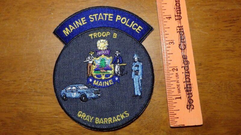 MAINE STATE POLICE TROOP B GRAY  BARRACKS  MAINE STATE TROOPERS HIGHWAY PATROL