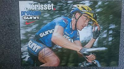 AK m.Orig.AG Christophe Herisset Radsport FRA 11.OS 98 - MTB Rarität!