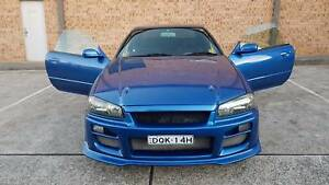 1998 Nissan Skyline r34 Gt-t Turbo Coupe