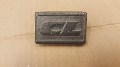 VW GOLF JETTA MK2 CL FRONT WING INDICATOR BLANK BADGE CL 191853688P