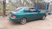 Hyundi accent coupe ..manual Castlemaine Mount Alexander Area Preview