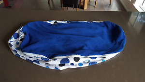 Blue  bean bag Maudsland Gold Coast West Preview