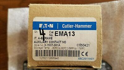 Eaton / Cutler Hammer, Auxilliary Contact, A-E Frame, 3-1537-001A, EMA13 (New)