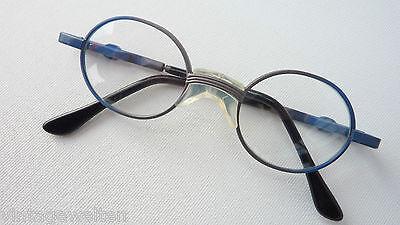 Kleine Kinderbrille Metallgestell mit Kunststoff-Federbügel Babyfassung Gr. K