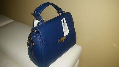 Versace collection handbag tote vitello stampa alce satchel gold chain