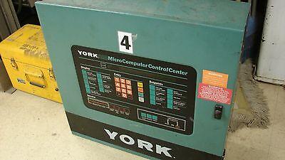 York Chiller Control Cabinet
