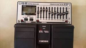 BOSS guitar bass pedal effect EQ-20 equalizer Taringa Brisbane South West Preview