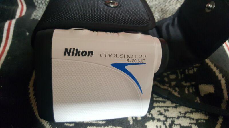 Nikon COOLSHOT 20 Golf Laser Rangefinder with Carrying Case