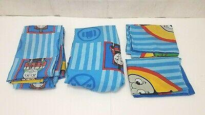 Thomas the Tank Engine Vintage Kids Bedroom Bed Sheet Set - Twin Size Dan River