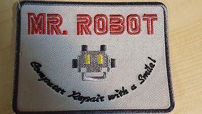 Fbi Jacket Halloween Costume (Mr Robot series TV Costume Jacket cosplay Cyber Hacking FBI Halloween)
