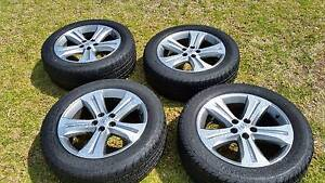 4 x 19 inch Genuine Toyota Kluger Wheels & Cooper tyres Rooty Hill Blacktown Area Preview