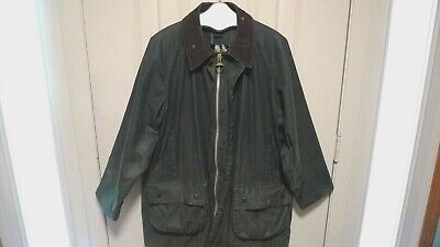 BARBOUR- A123 GAMEFAIR WAX COTTON JACKET- SPECIAL LINING  - MADE IN UK-  RARE-44