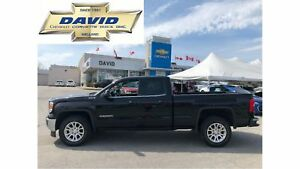 2014 GMC Sierra 1500 SLE DCAB 4WD SHORT/REAR CAM/LOCAL TRADE!!