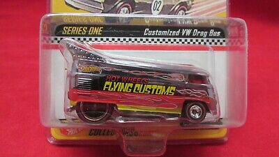 HOT WHEELS RLC Online Exclusive  Flying Custom VW Drag Bus #1416-10,000