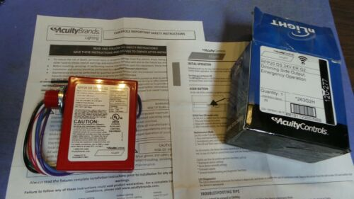 1 – Acuity Controls RPP20 DS 24V ER G2, 263G2H, Dimming Side Output, Emergency O