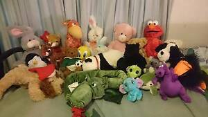 2 bags of soft toys Ridgehaven Tea Tree Gully Area Preview