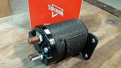 Harley Starter Solenoid Ironhead Sportster Shovelhead Flh Fxe Xl Wrinkle Black