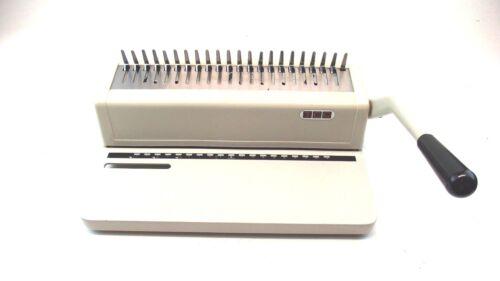 TCC 123PB Paper Binding Binder Machine Good Working Condition