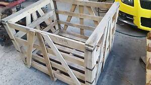 WOODEN PACKING CRATES Yatala Gold Coast North Preview
