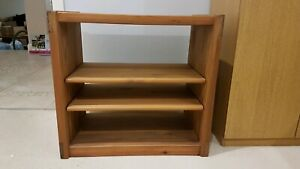'This End Up' US Southern Yellow Pine Small table/shelf unit