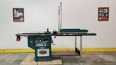 G0652 Ai 10 5 Hp 3-phase Heavy-duty Cabinet Table Saw - Used Machine