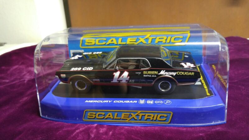 Scalextric Slot Car Cougar