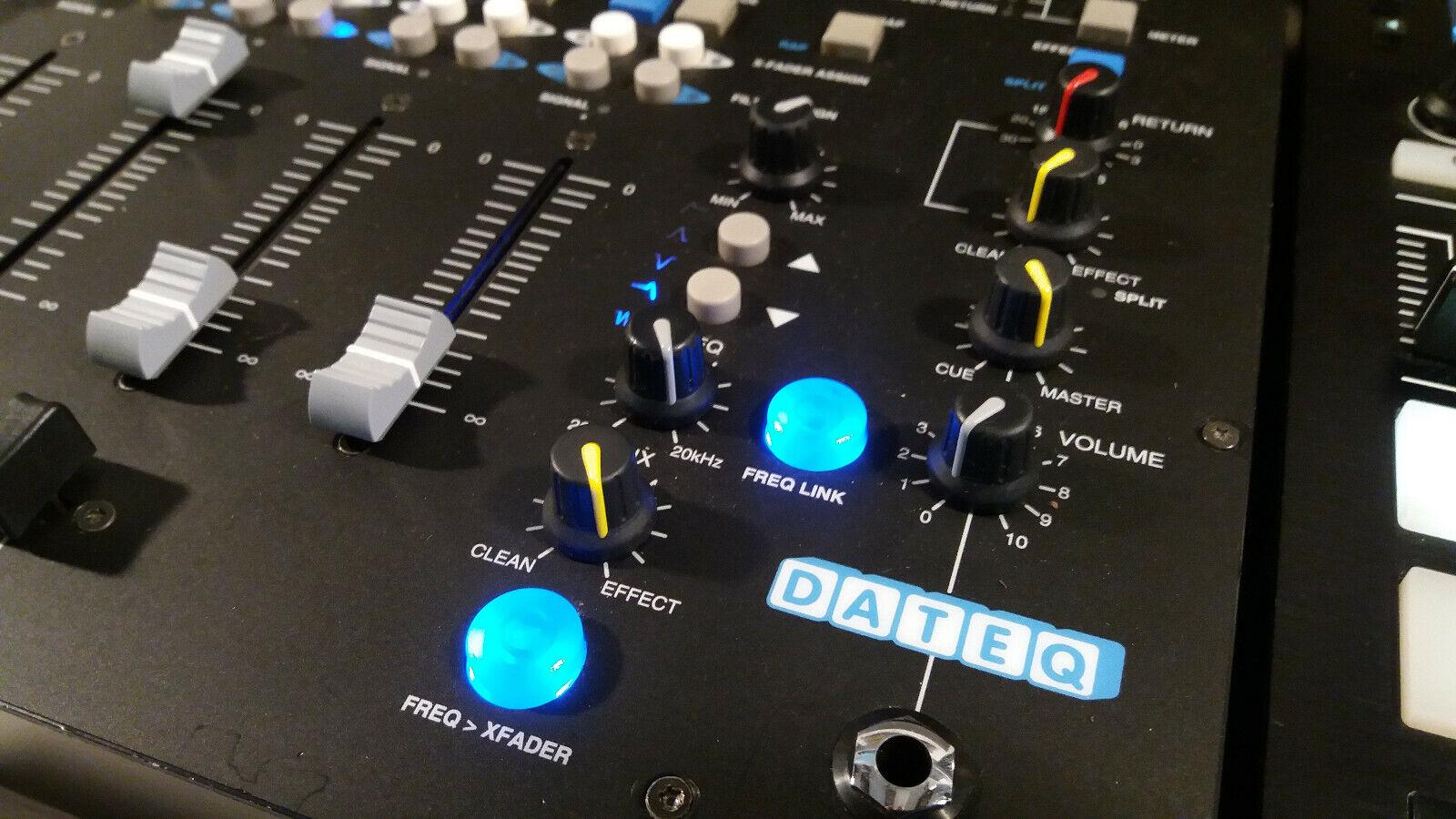 Table de mixage dateq modèle vibe - 4 voies avec filtres made in hollande ;)