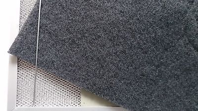 Kohlefilter (Aktivkohlefilter 50x60cm Universalfiltervlies Kohlefiltermatte Dunstabzugshaube )