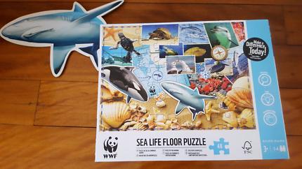 WWF sealife floor puzzle NEW