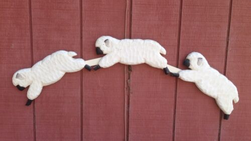 """Counting Sheep"" Wooden Baby"