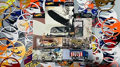 Led Zeppelin - Hot Wheels Premium - Album Art