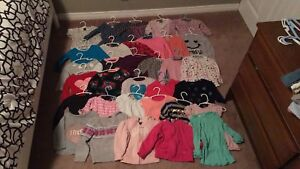 2T girls shirts and sweaters