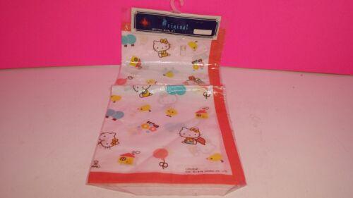 Sanrio 1976 Hello Kitty Bandana Handkerchief Chicken Japan New