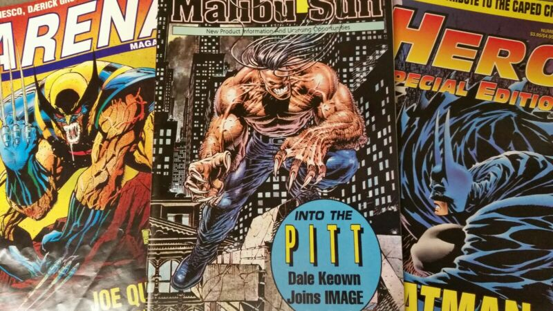 Comic Book Fanzine Hero Arena Batman Kelly Jones Special Edition 10
