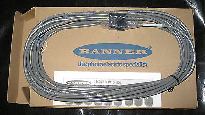 New Banner Photo Eye Set W 30 Cables - Se61rncmhs 29224 Se61emhs 26354