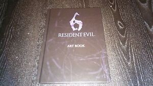 NEW OFFICIAL CAPCOM Resident Evil 6 Art Book (PS3 / XBOX 360)