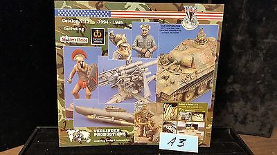 Verlinden Productions Modelling Catalog No.13 1994-1995 Ref. Book Lot A3