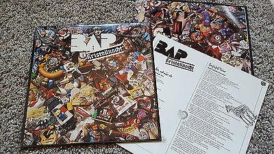BAP - Kristallnacht US Vinyl LP WITH ENGLISH LYRICS