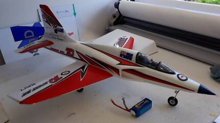 RC Plane, Freewing Rebel V2 70mm EDF Jet, Retracts Flaps, 4 or 5s