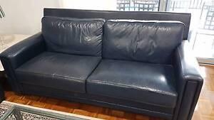 Moran Leather Sofas x 2 Sans Souci Rockdale Area Preview