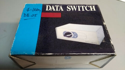Data Switch Four Position DB25