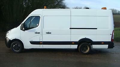 2011 VAUXHALL MOVANO 2.3 TWIN WHEEL RIONED DIESEL JETTER JETTING VAN PAC AIRCON